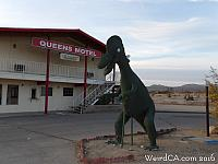 Queen's Motel Dinosaur