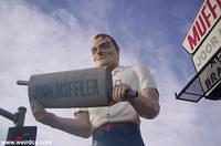 The Joor Muffler Man in Escondido
