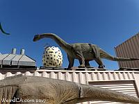 Sauropod and Egg