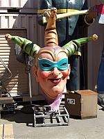 Jester Mardi Gras Style Head
