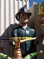 Fireman Muffler Man