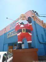 Santa Claus at Bell Plastics