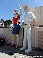 Bell Plastics has both a Uniroyal Girl and the Gas Guy