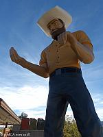 Joshua Tree Muffler Man