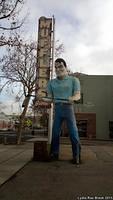 San Jose Muffler Man