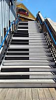 Piano Staircase in San Francisco at Pier 39