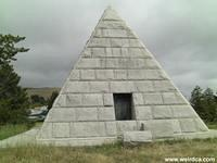 The Dorn Pyramid in Oddfellows Cemetery, San Luis Obispo