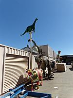 Sinclair Dinosaur at Bell Plastics