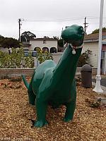 Morro Bay Sinclair Dinosaur