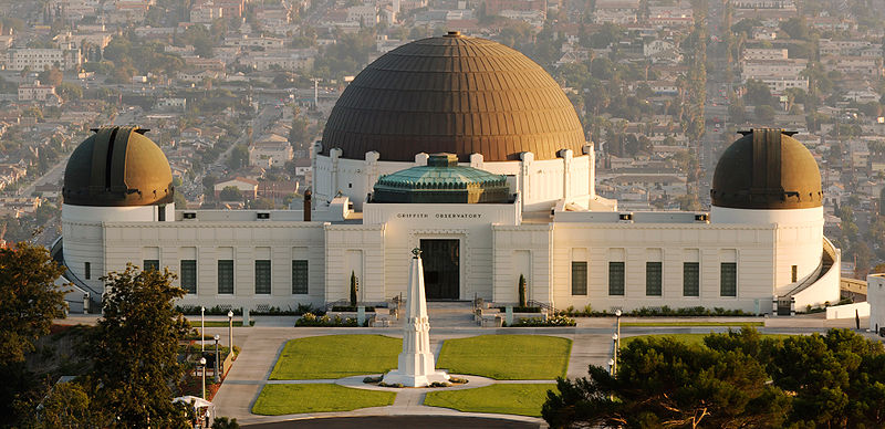 Due to plans he set aside before he died, Griffith J Griffith arranged to have the Griffith Observatory built