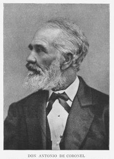 Don Antonio F Coronel