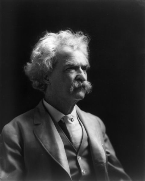 Mark Twain wrote about a ghost in San Francisco in 1866