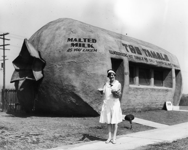 The Tamale 1920s - picture from <a href='http://www.lapl.org'>Los Angeles Public Library Photo Collection</a>