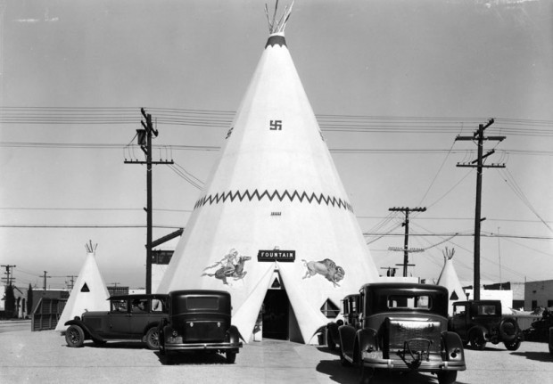 Teepee BBQ Company - possibly the inspiration for the Wigwam Villages