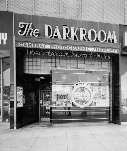 The Darkroom Then