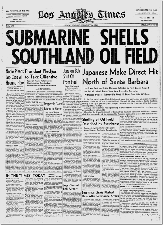 Submarine Shells Southland Oil Field