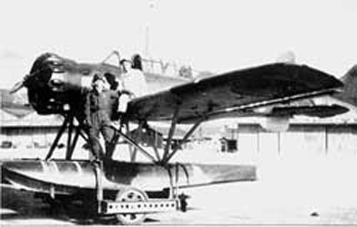 Fujita and his Plane