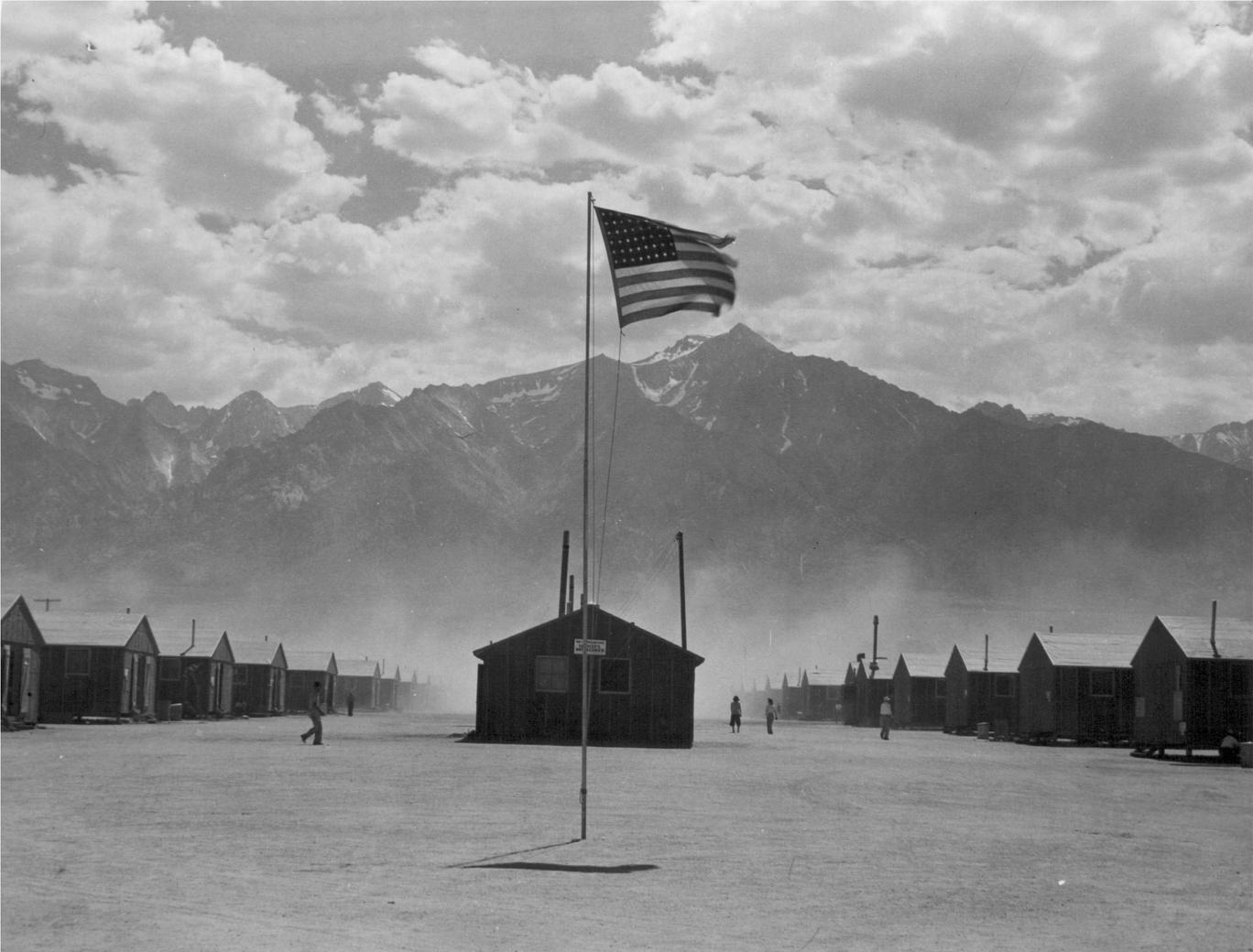 Manzanar Relocation Center 7/3/1942