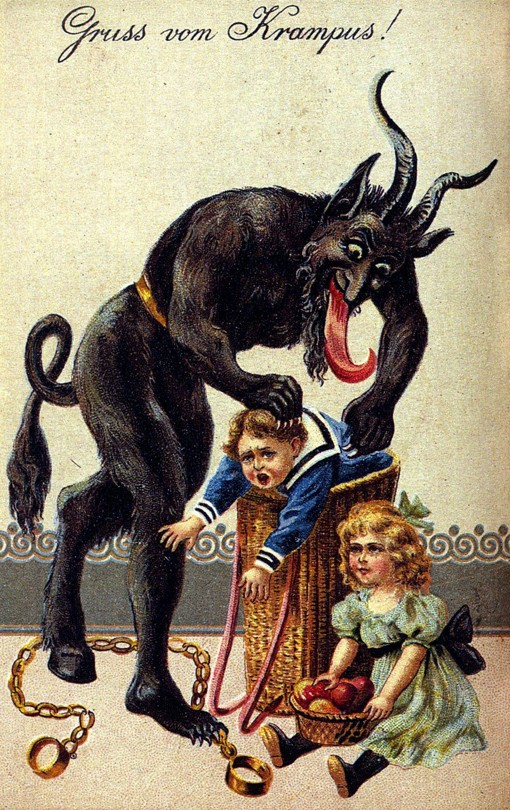 Krampus has his own festival in Los Angeles