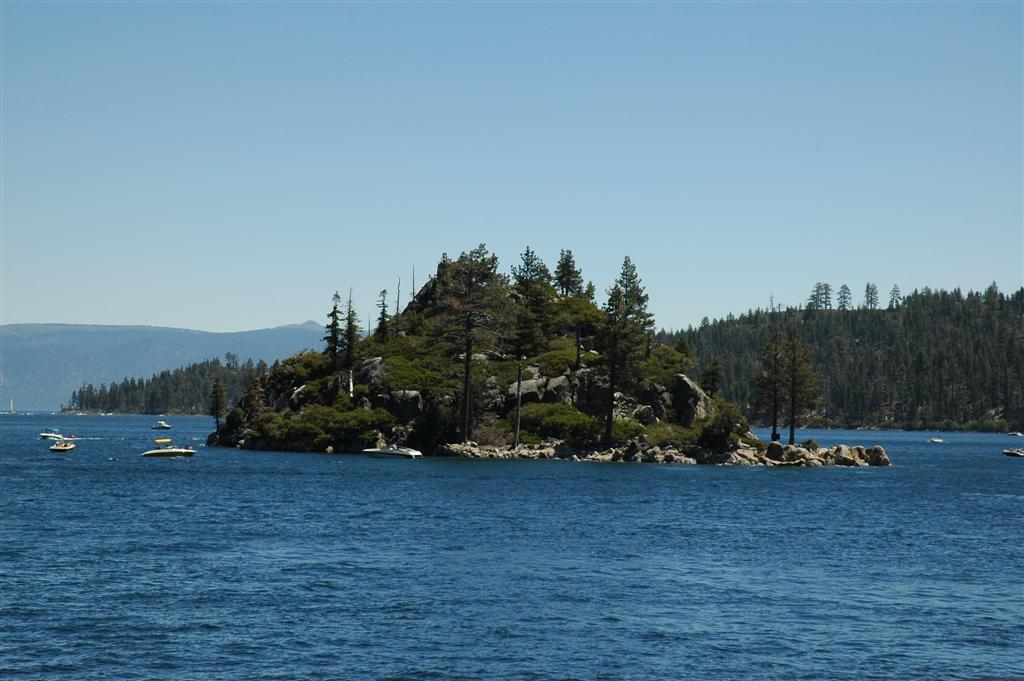 The Ghost of Captain Dick haunts Fannette Island - Picture from Wikipedia