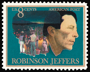 1970's Stamp of Robinson Jeffers