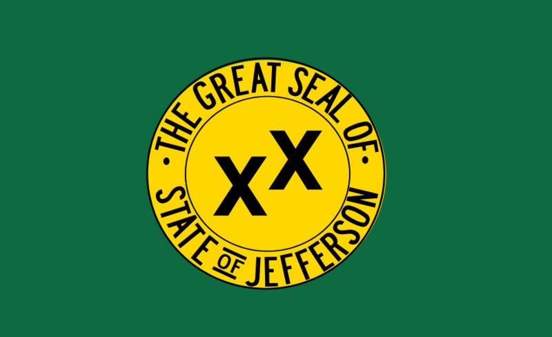 The Flag of the State of Jefferson
