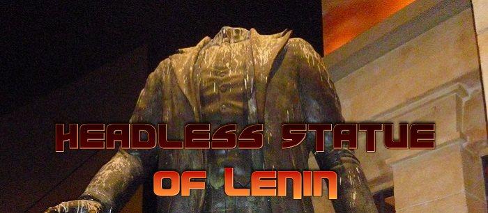 Headless Statue of Lenin