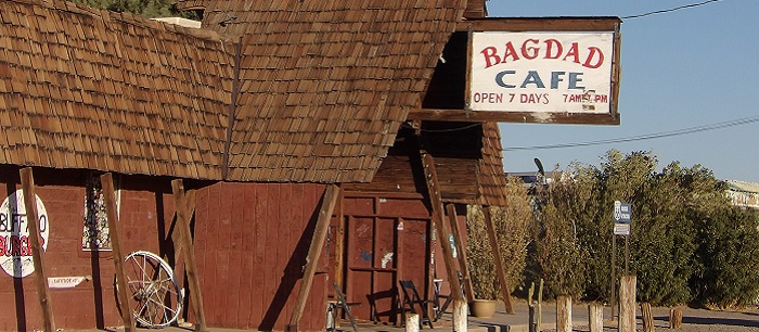 Bagdad the town may be gone, but Bagdad the Cafe lives on!