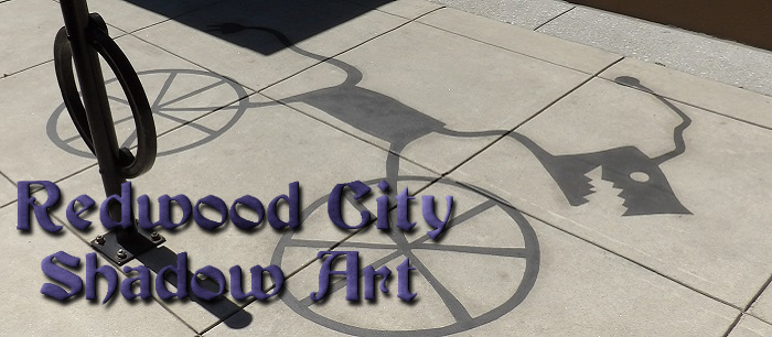 Redwood City Shadow Art