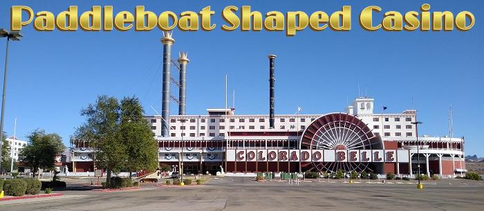 Paddleboat Shaped Casino