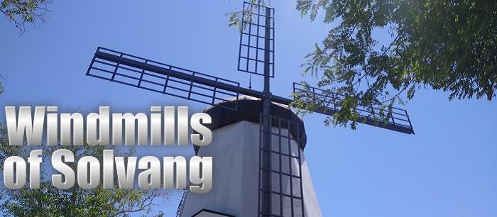 Windmills of Solvang
