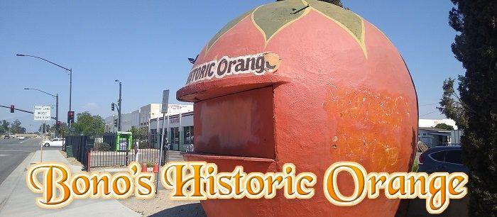 Giant Orange Stands of California
