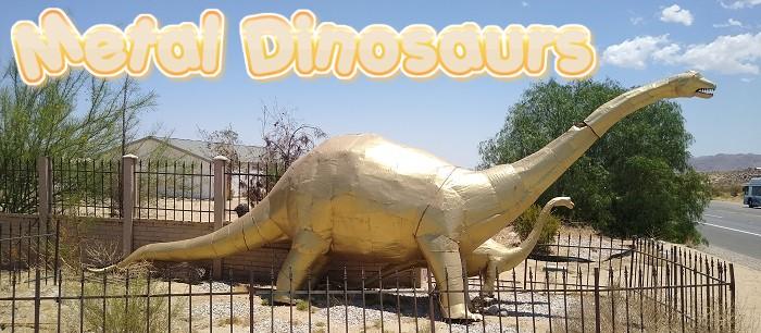 Metal Dinosaurs