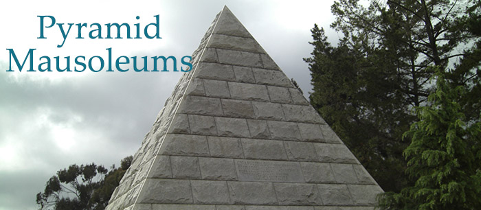 Pyramid Mausoleums