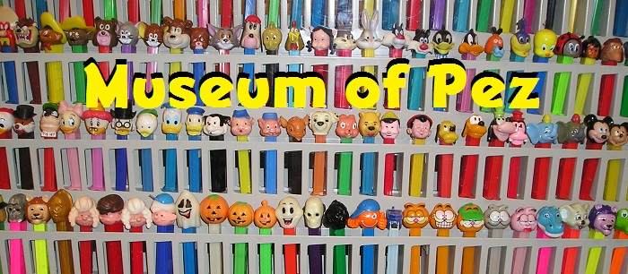 The Museum of Pez holds one of every Pez dispenser, along with the former World's Largest Pez Dispenser.
