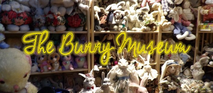 The Bunny Museum in Altadena plays host to over 35,000 bunny themed items!