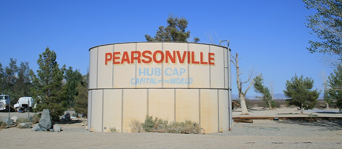 Pearsonville, Hubcap Capital of the World
