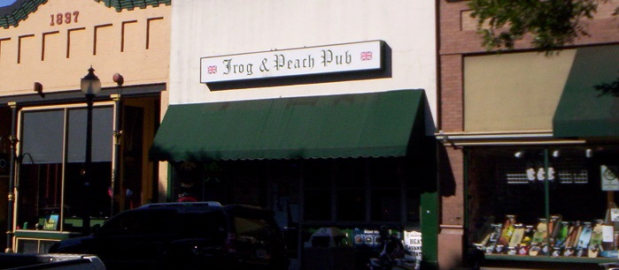 Frog and Peach Pub