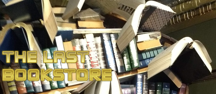 The Last Bookstore in LA is a fantastic and quirky bookstore!