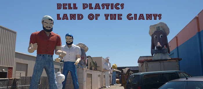 Hayward is home to a literal Land of the Giants with over five giant fiberglass statues.
