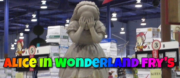 Alice in Wonderland Fry's