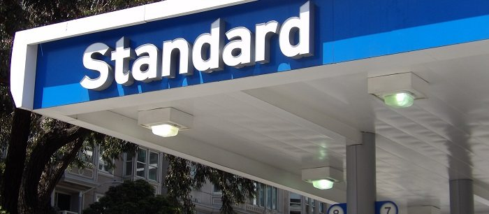 A few Chevron gas stations are instead called Standard!