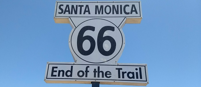 Route 66 - End of the Trail