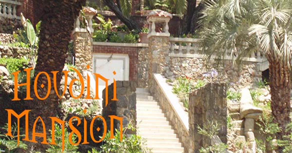 houdini mansion weird california